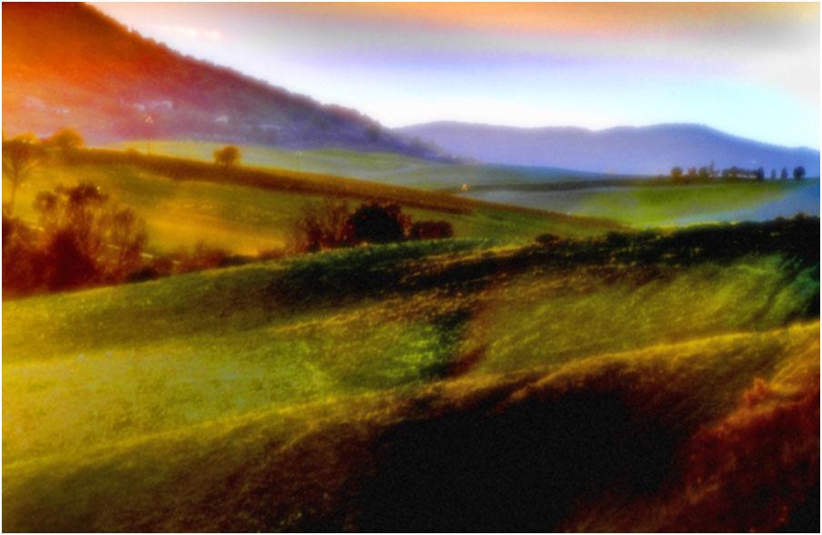 "tuscany #8023 ""Tuscany pinhole Nr. 1"""