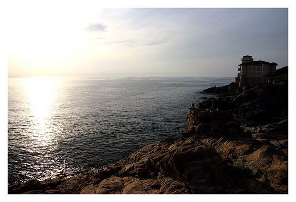 tuscany coastal dusk