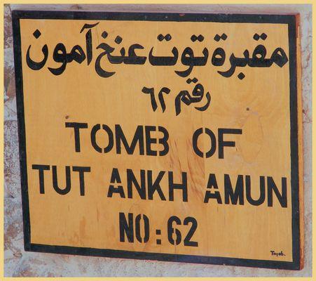 TUT ANKH AMUN NO.62