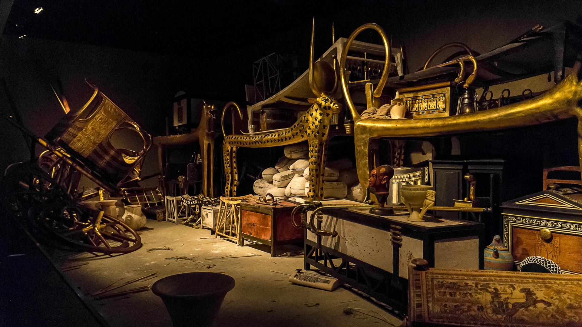 Tutanchamun-Ausstellung Berlin