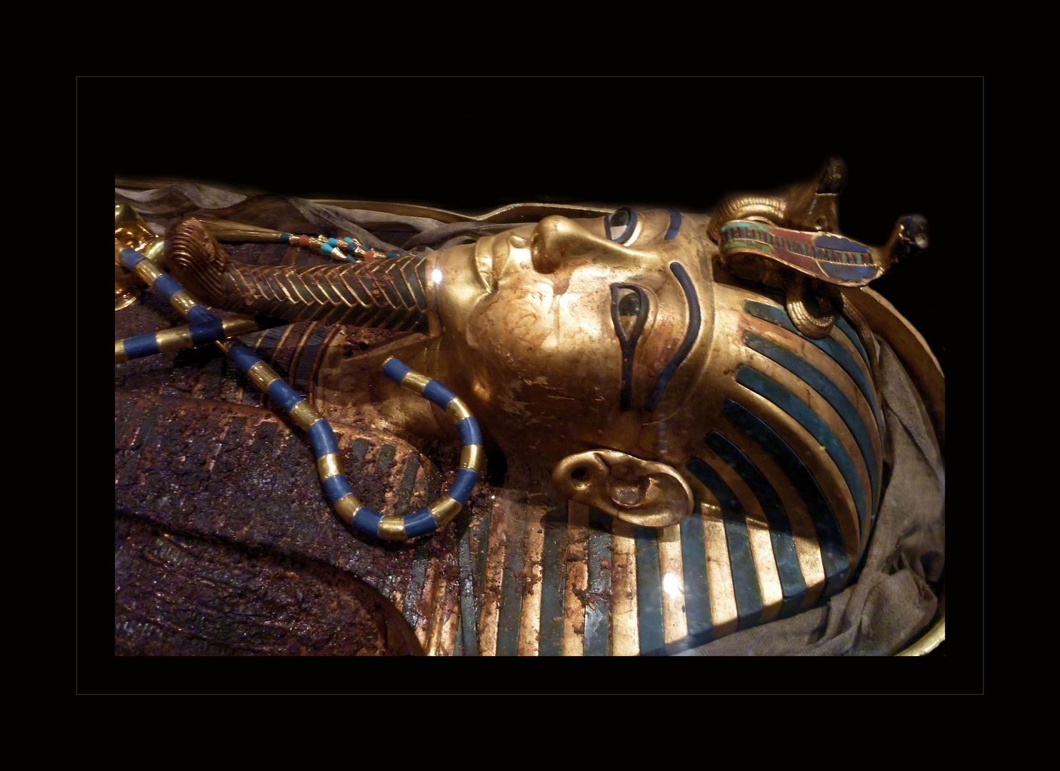 Tutanchamun in Fundsituation