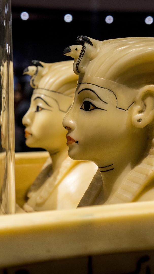Tutanchamun - Kanopengefäße