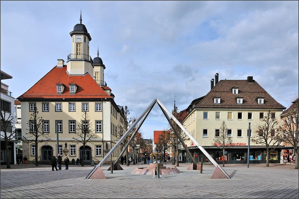 Tuttlingen - Am Rathaus
