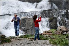 Tvindefossen, Waterfall of eternal youth.