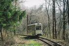 Tw 337 auf der Tram Museumsstrecke in Wuppertal Kohlfurt