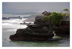 Twilight at Tanah Lot