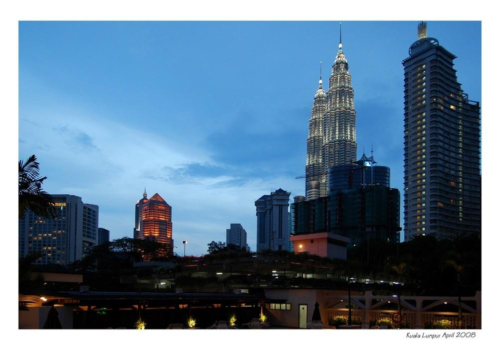 Twilight in Kuala Lumpur
