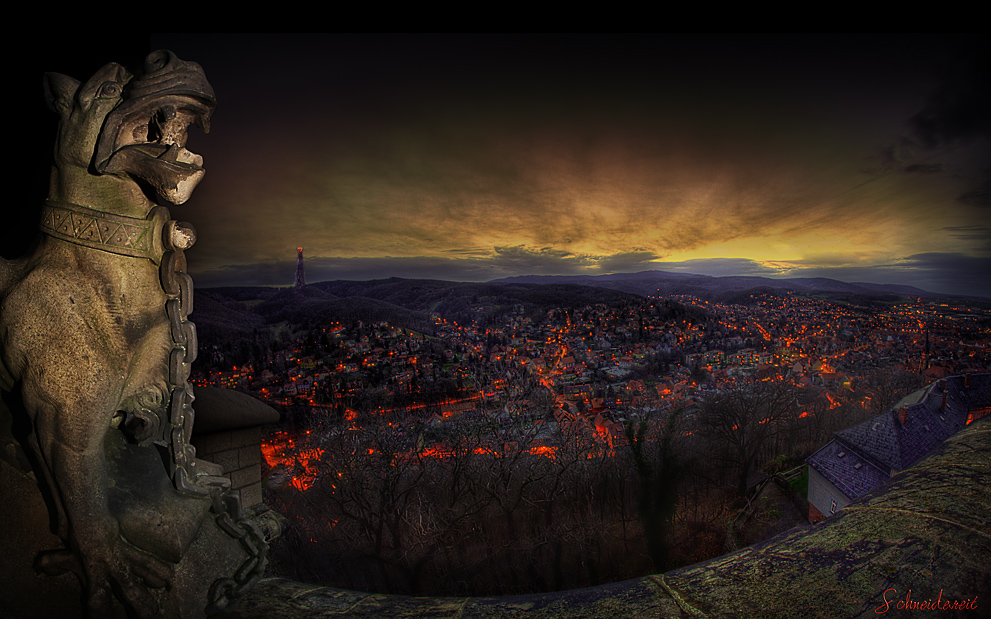 Twin City With Mordor