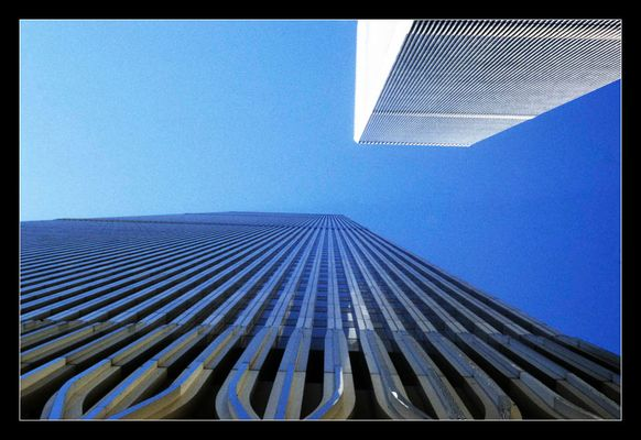 Twin Towers (World Trade Center, New York, USA)