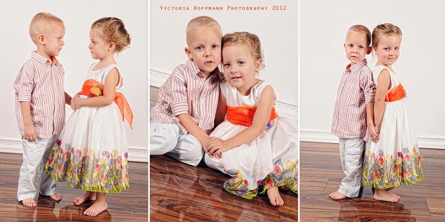 Twins: Michelle & Justin (3 Jahre)