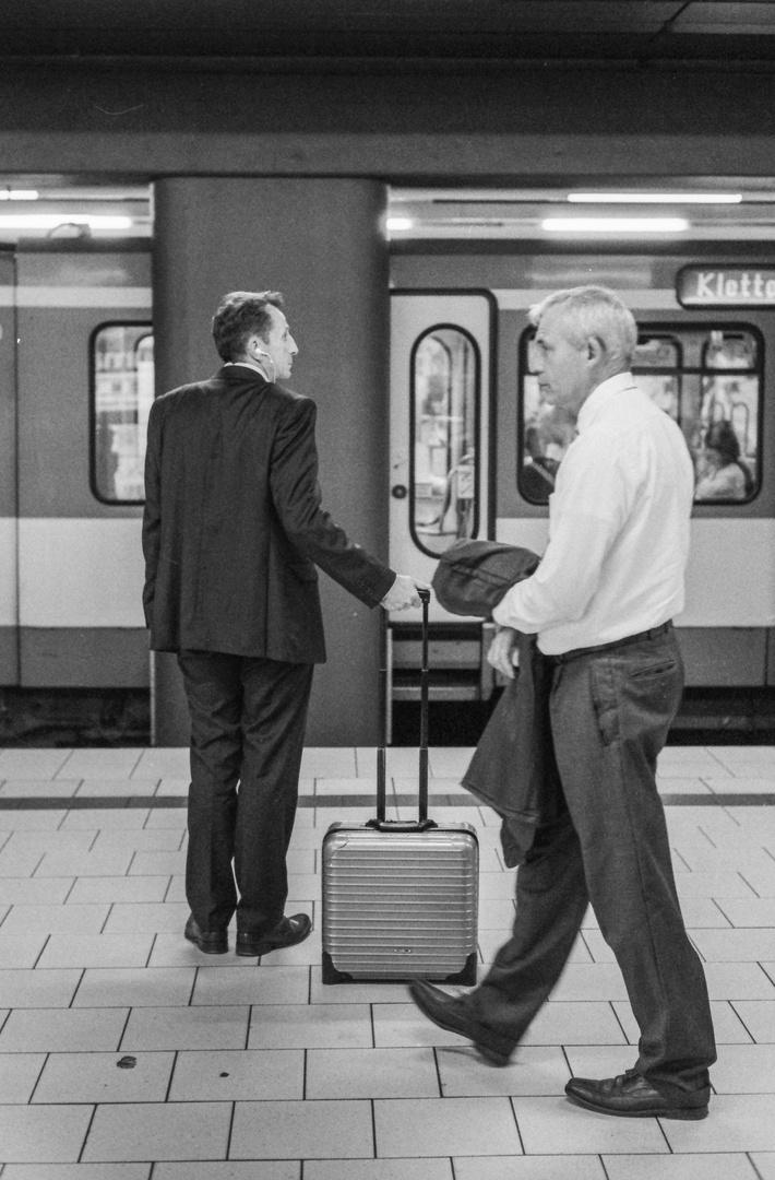 Two Businessmen...