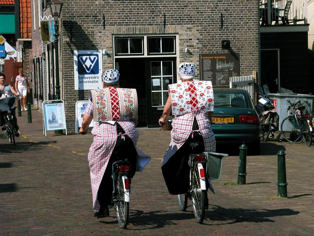 two ladies in Bunschoten -Holland