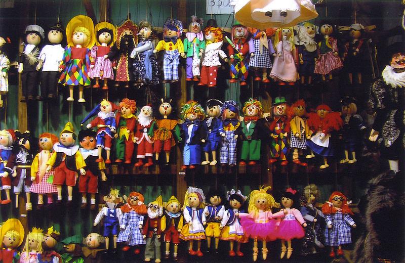 ...two sad puppets......