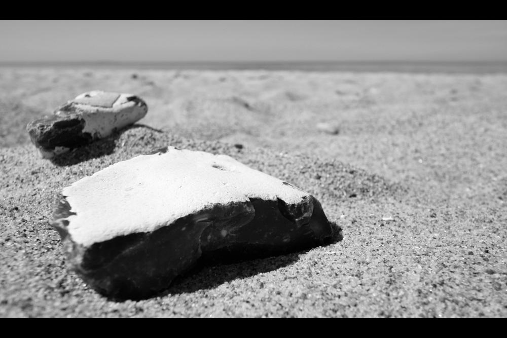 [...two stones...]
