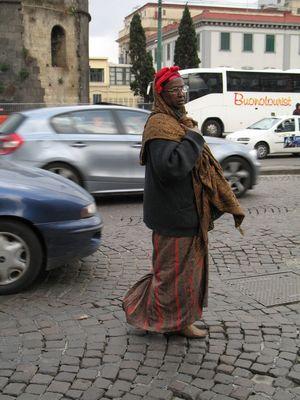 Typical neapolitan women