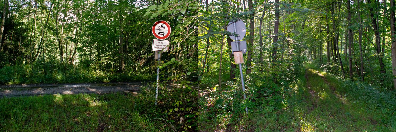 typisch deutsch oder wohin mit dem letztem Schild