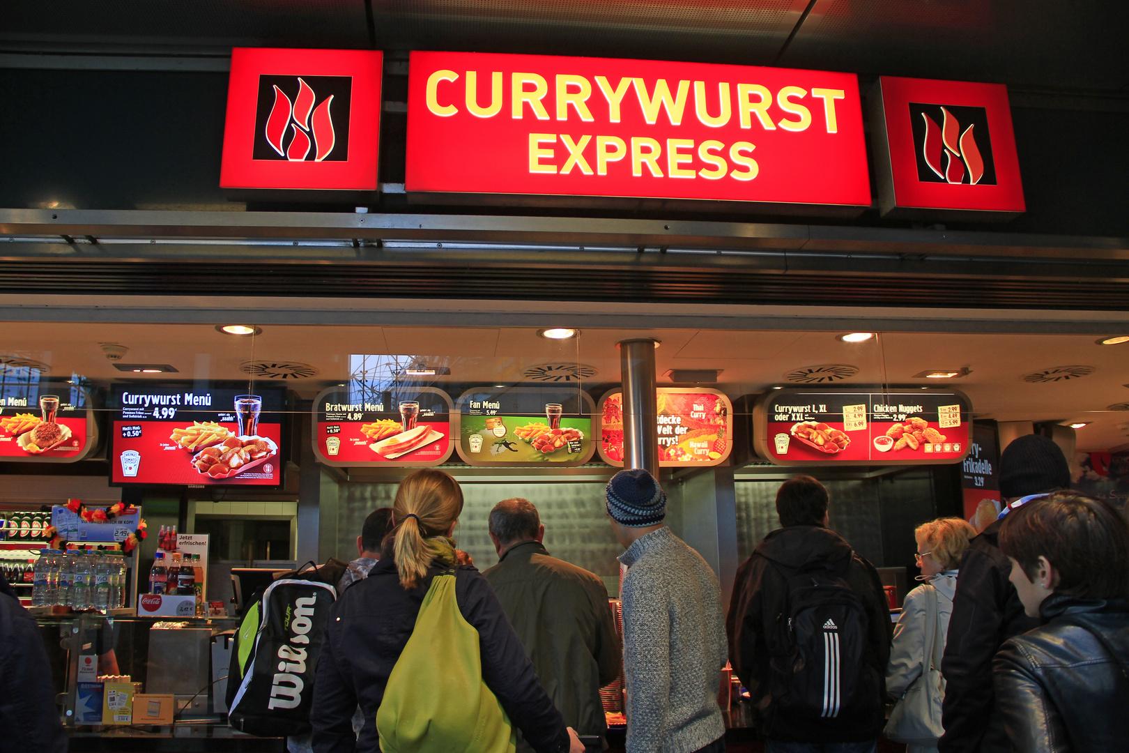 Typisch für Berlin.....die Currywurst!