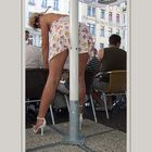 Typisch, immer eine Stange zwischen den Beinen ;-)