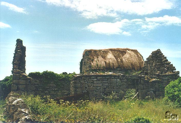 'Typische' Gebäude auf Aran Islands - Irland