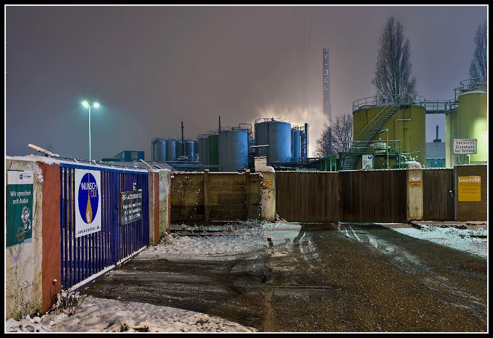 Typische Hafen-Branche...