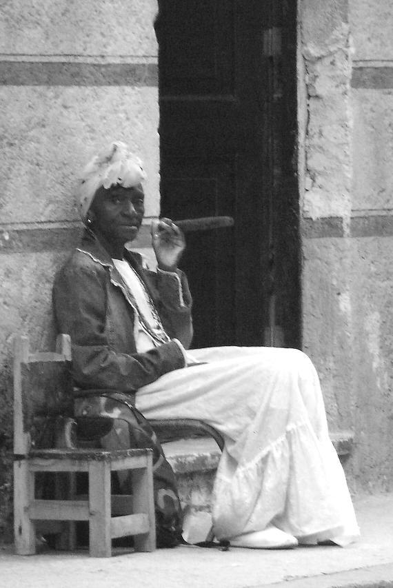 Typische Szene in Havanna