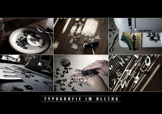 Typografie im Alltag