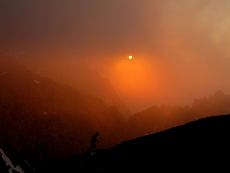 Tyrolian Sunset