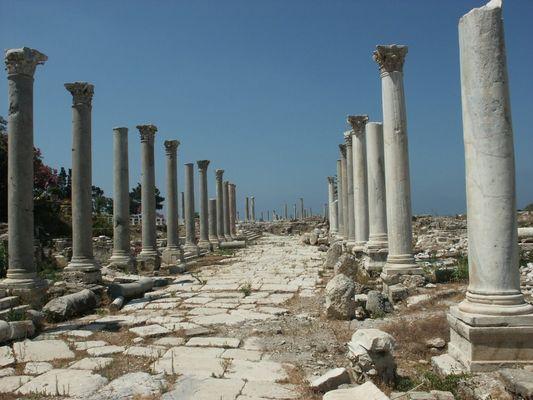 Tyros - römisch-phöniz. Stätte im Libanon