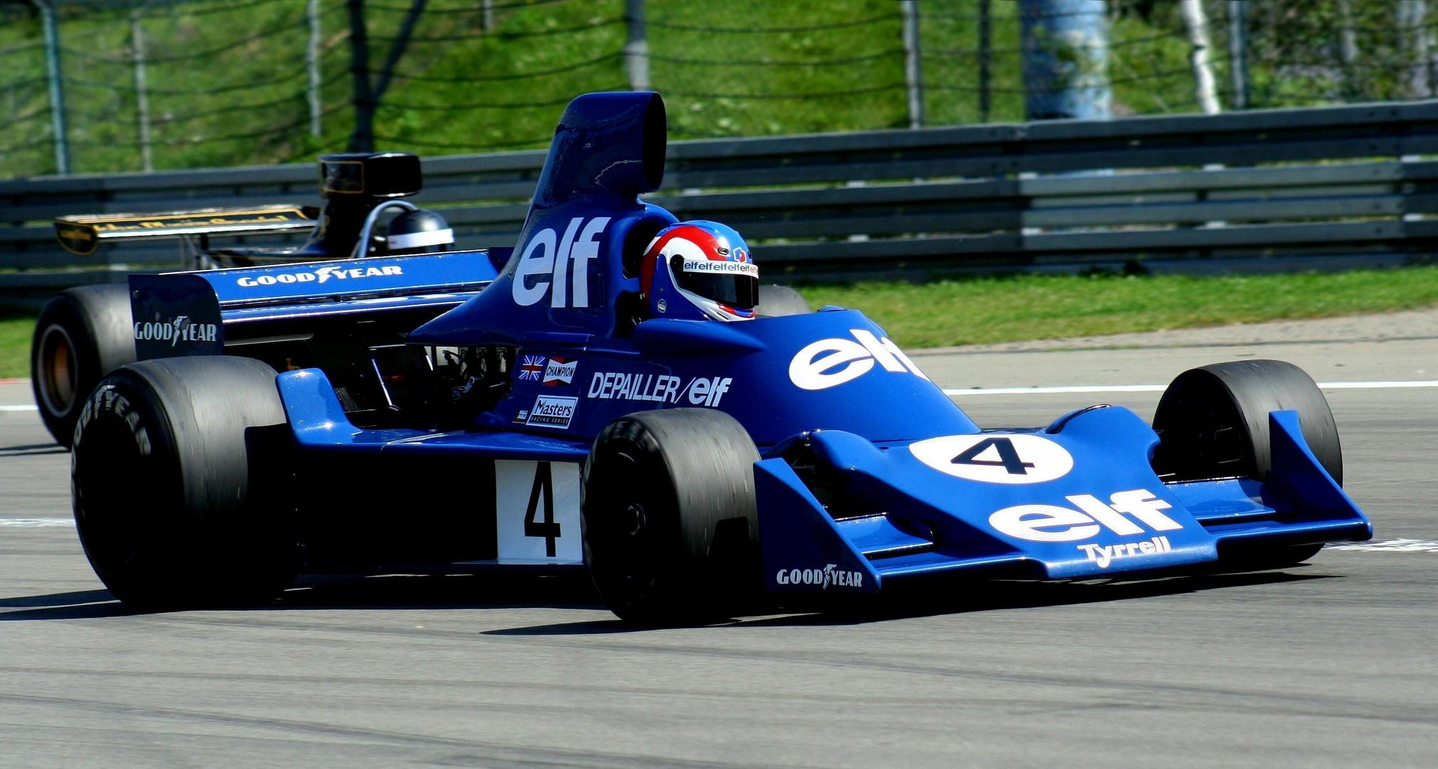 Tyrrell - das blaue Wunder
