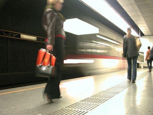 U-Bahn am Westbahnhof