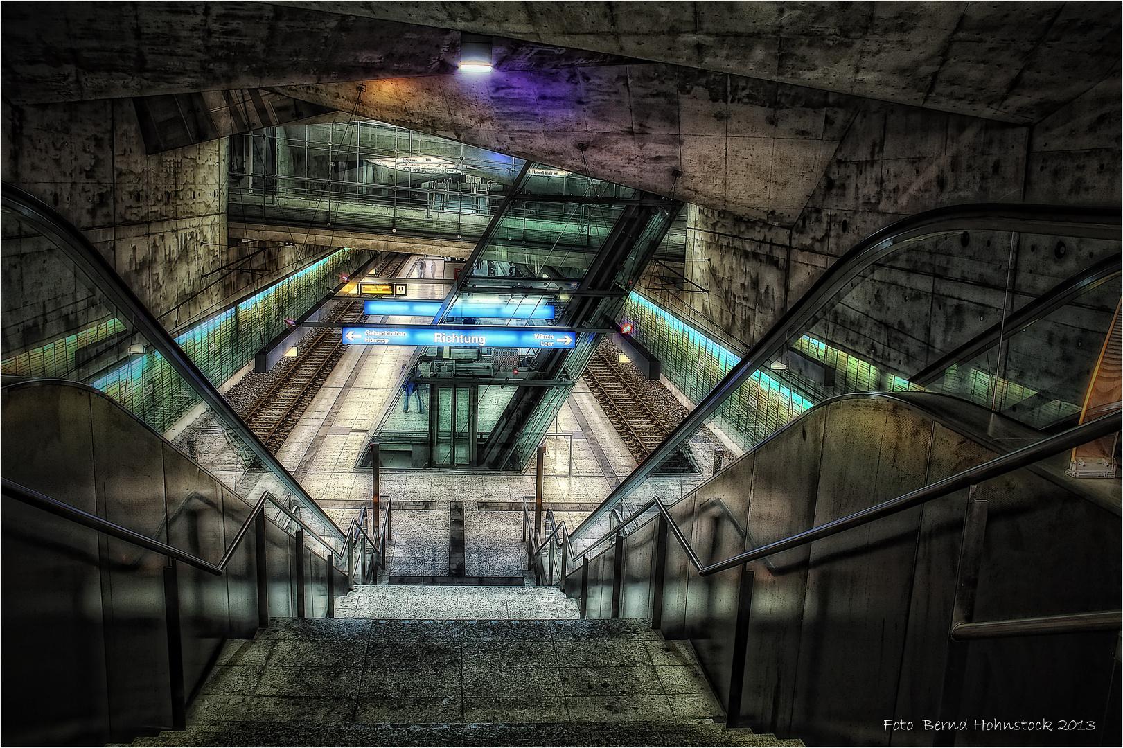U-Bahn .... Bochum Rathaus Süd