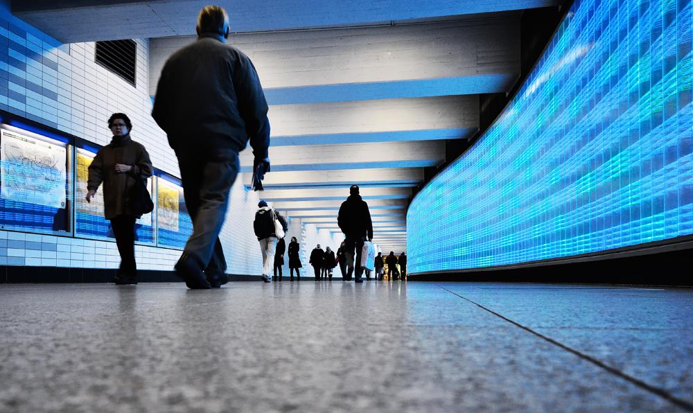 U-Bahn E-Hbf