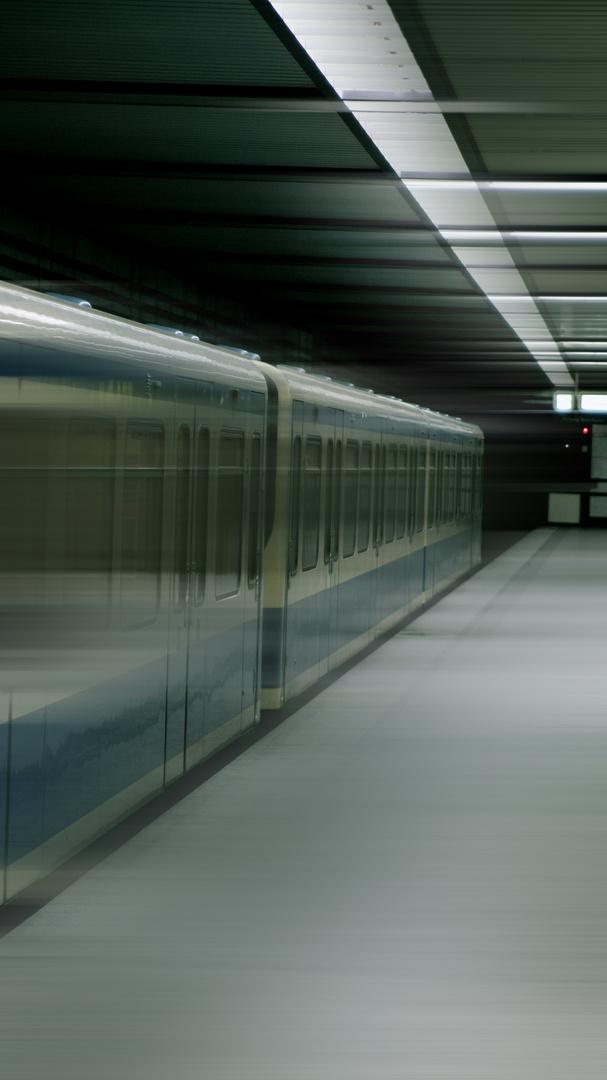 U-Bahn Einfahrt