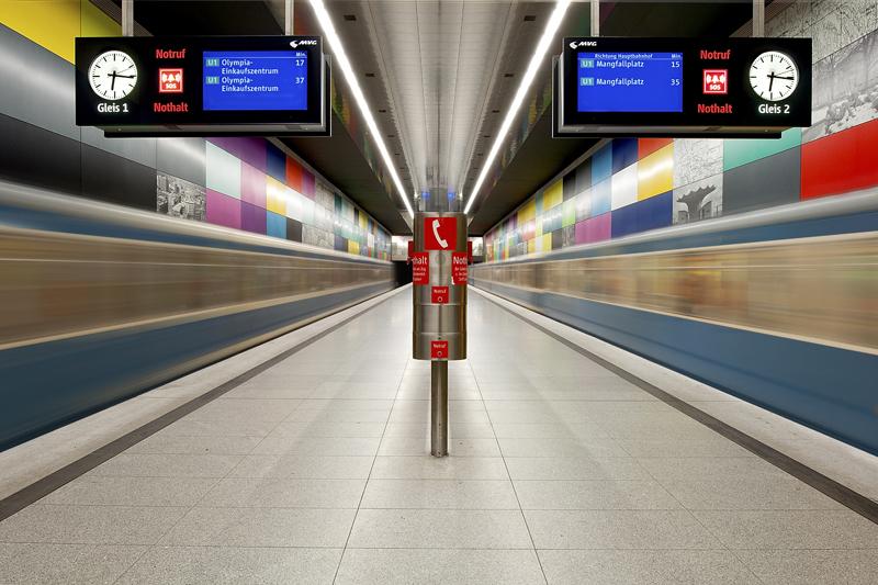 U-Bahn Georg-Brauchle-Ring