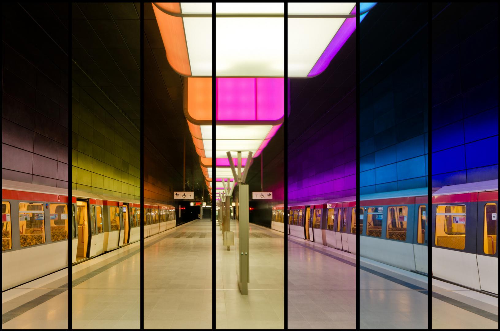 U-Bahn Hafencity Spektrum