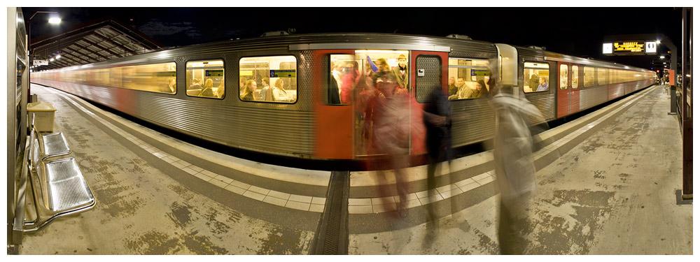 U-Bahn Haltestelle Baumwall