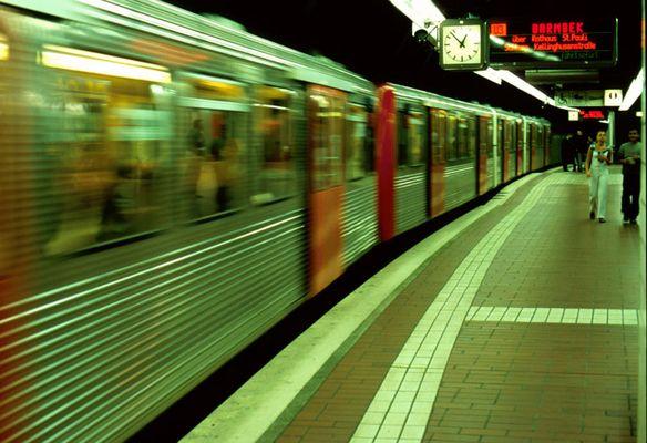 U-Bahn in Hamburg