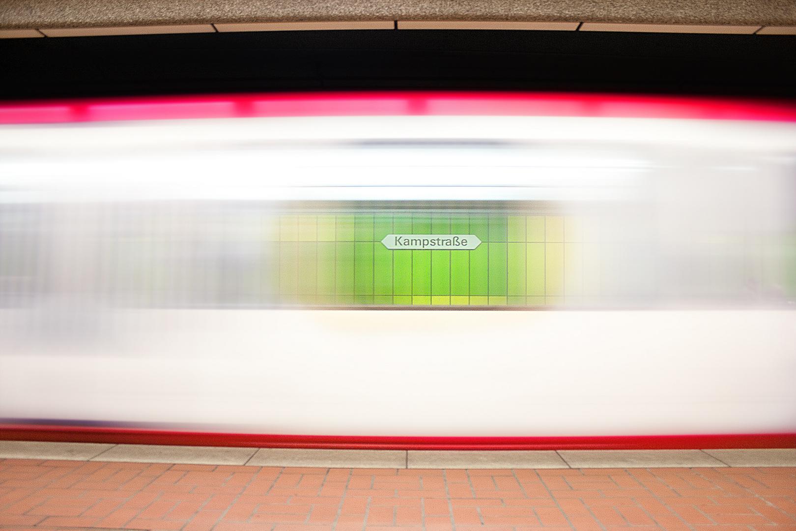 """U-Bahn """"Kampstraße"""" verpasst"""