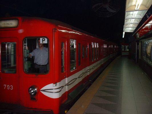 U-Bahn Linie B Station Florida