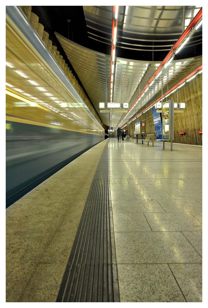 U-Bahn München Mangfallplatz II