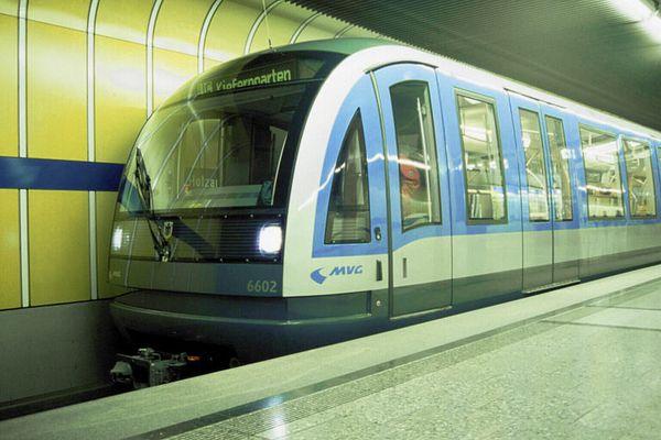U-Bahn München mit Designauszeichnung