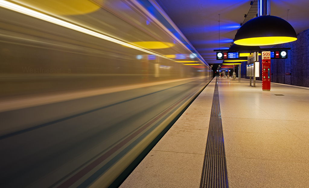U-Bahn München - Westfriedhof - #01