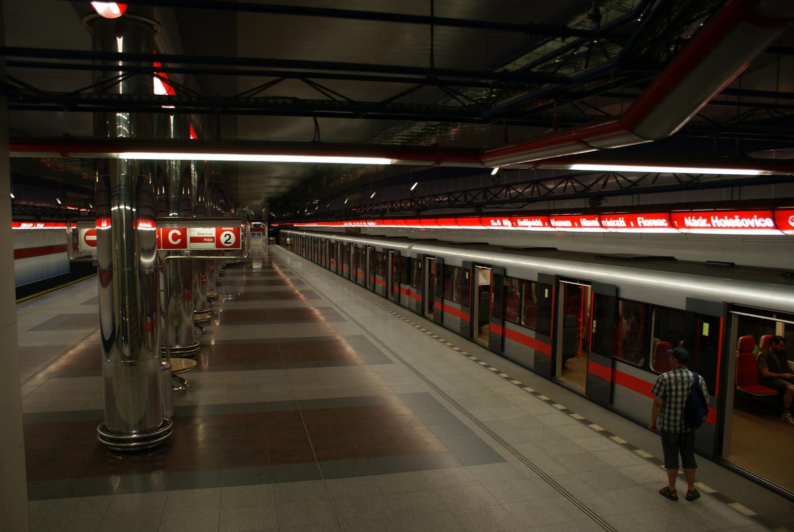 U- Bahn Praha
