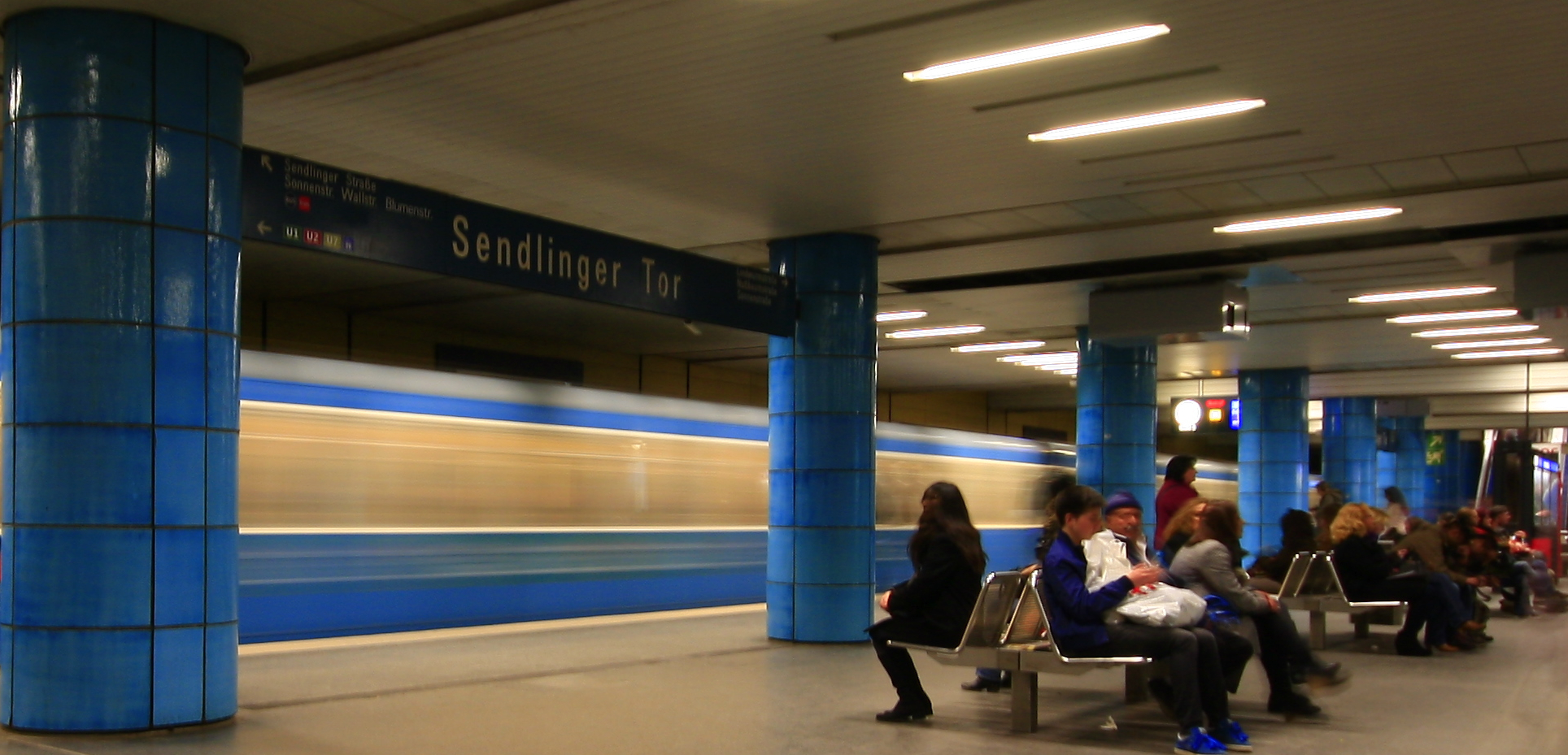 U-Bahn Sendlinger Tor, München