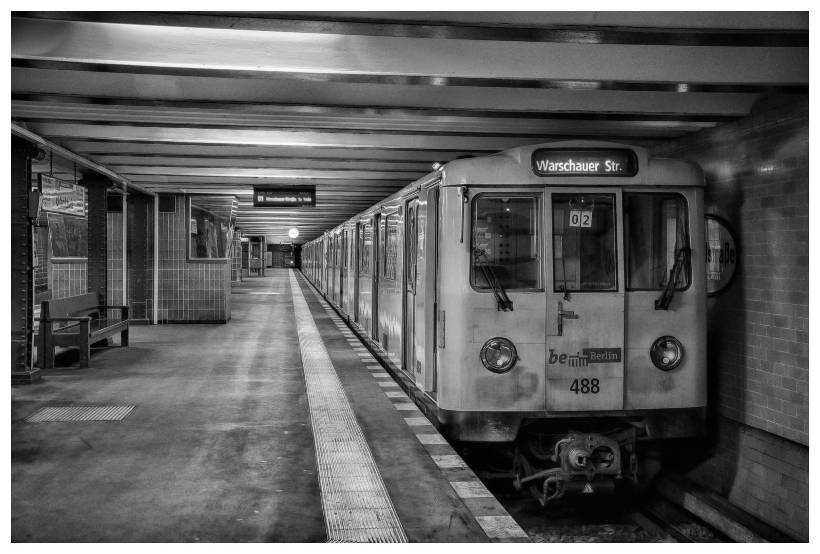 U-Bahn Station Berlin Warschauer Str.