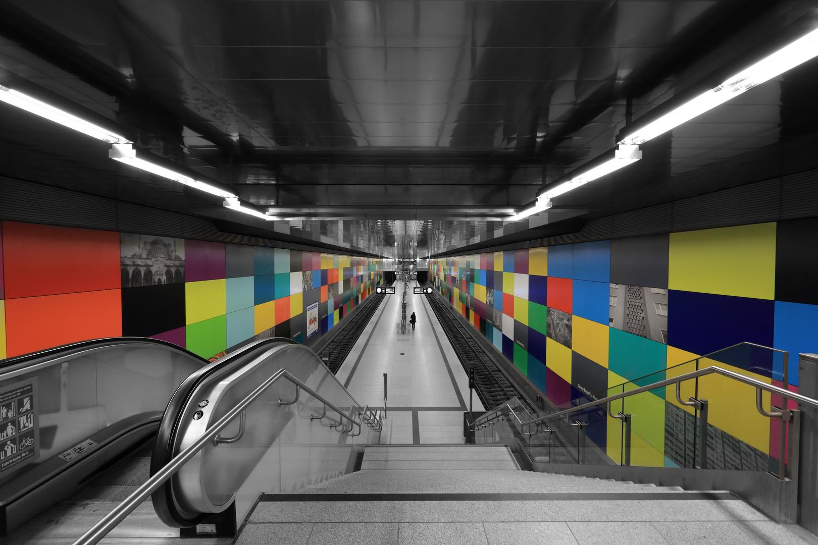 U-Bahn Station Georg-Brauchle-Ring, München