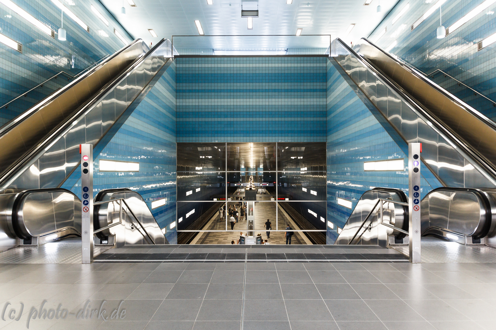 U-Bahn Station Hamburg-Überseequartier