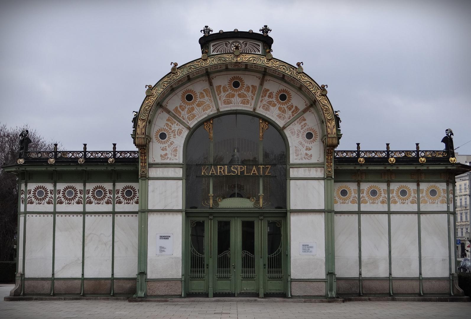 U - BAHN STATION - KARLSPLATZ