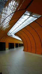 U-Bahn Station. Marienplatz