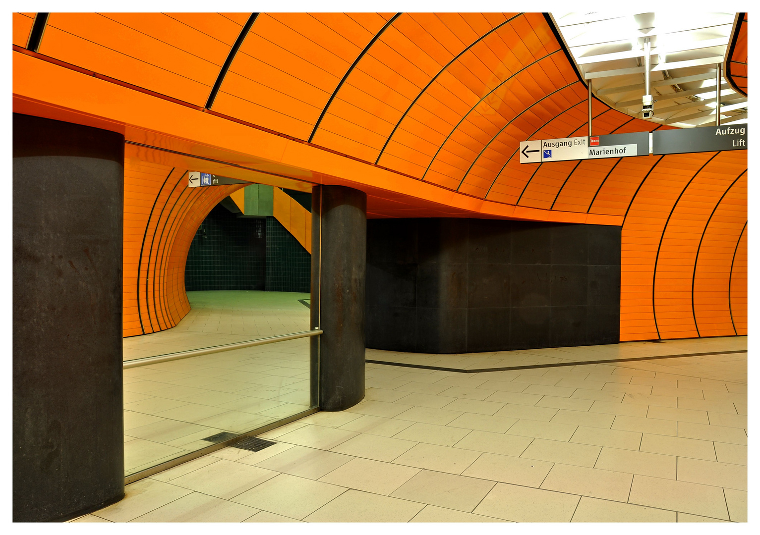 U-Bahn Station München Marienplatz II